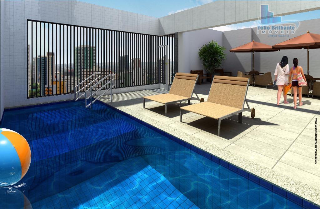 Apartamento residencial à venda, Casa Amarela, Recife.