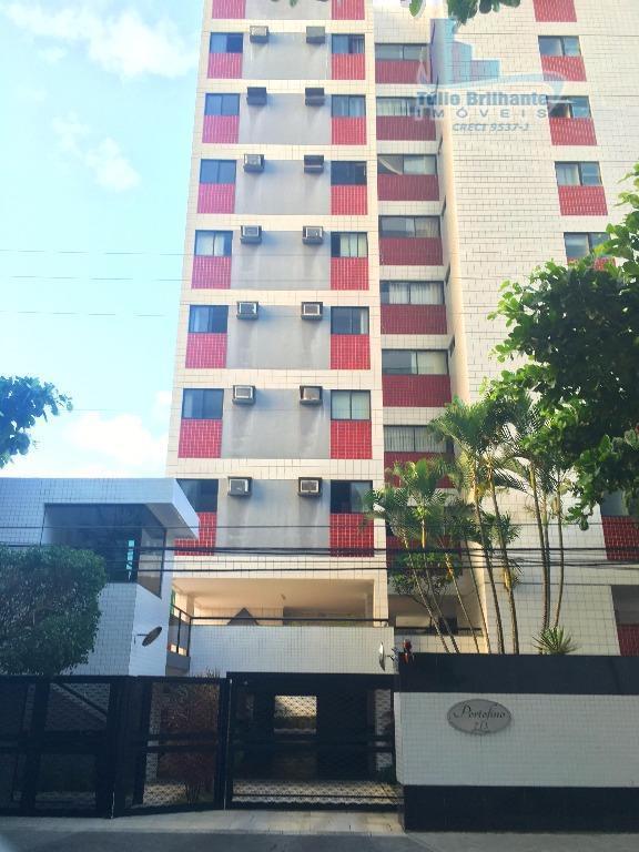 Apartamento  residencial para locação, Boa Viagem, Recife.