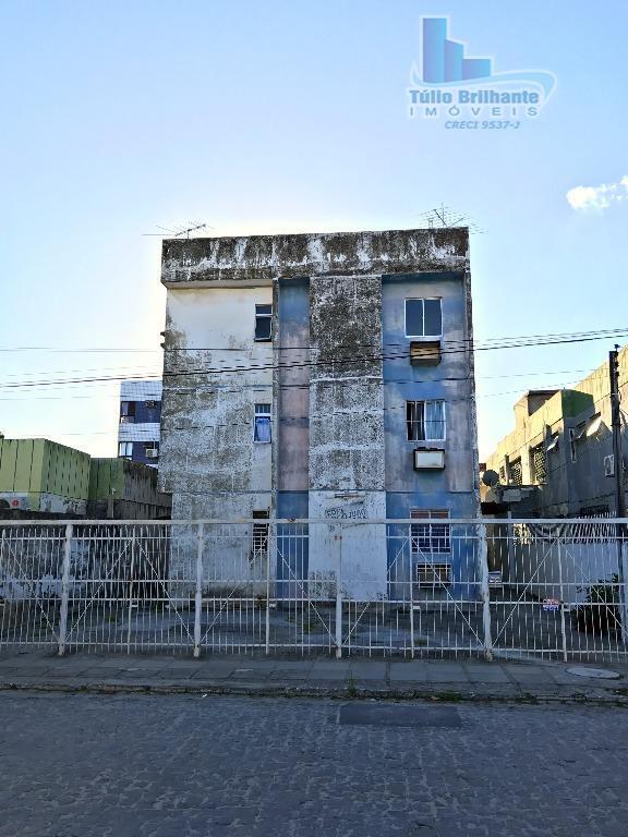 Apartamento 70,20 m² + cobertura particular para locação, Imbiribeira, Recife.