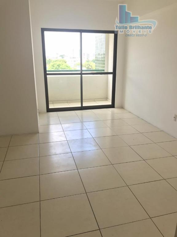 Apartamento com 2 dormitórios para alugar, 58 m² por R$ 1.200/mês - Engenho do Meio - Recife/PE