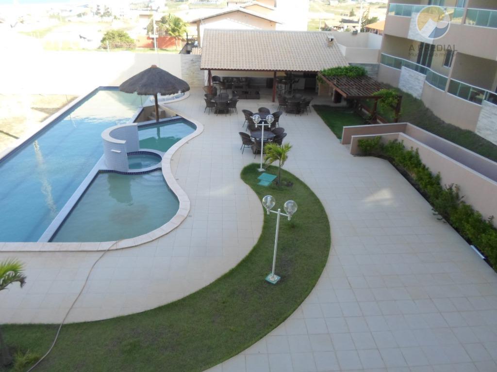 Apartamento  residencial para locação, Porto das Dunas, Aquiraz.