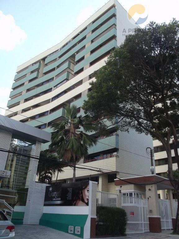 Apartamento residencial para locação, Meireles, Fortaleza - AP1409.