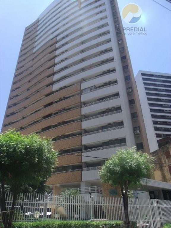 Apartamento residencial para locação, Meireles, Fortaleza - AP0813.
