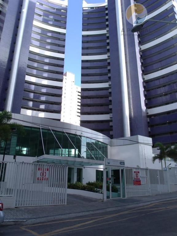 Apartamento residencial para locação, Meireles, Fortaleza - AP1361.