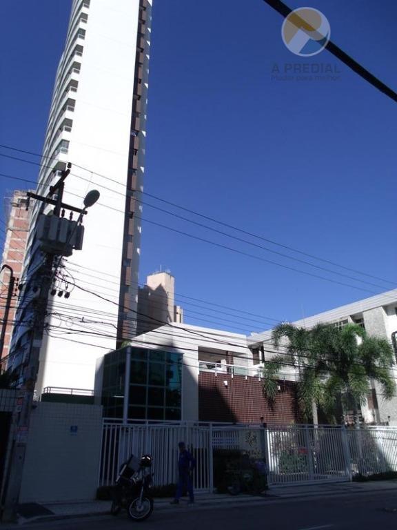 Apartamento residencial para locação, Meireles, Fortaleza - AP0403.