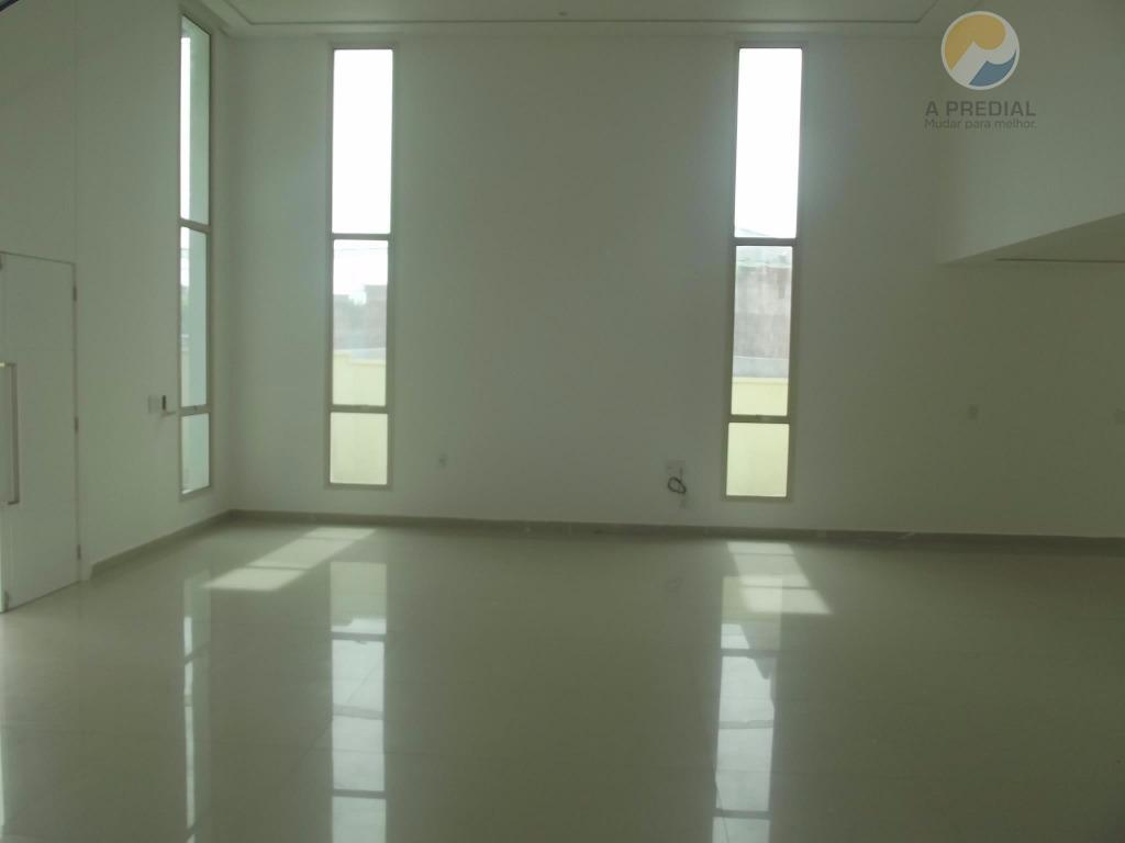 excelente casa em alplaville fortaleza, com excelente área de lazer no club, com piscina, academia, quadra...