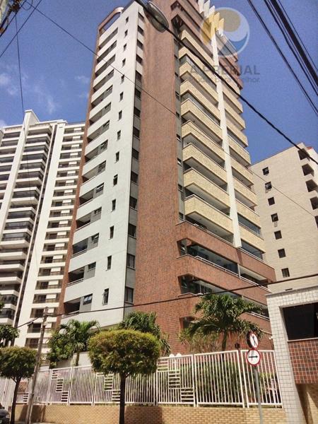 Apartamento residencial para locação, Aldeota, Fortaleza - AP0347.