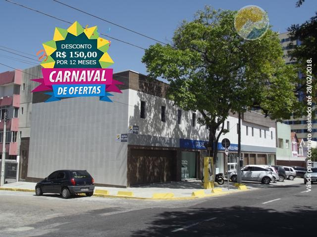 Sala comercial para locação, Aldeota, Fortaleza - SA0073.