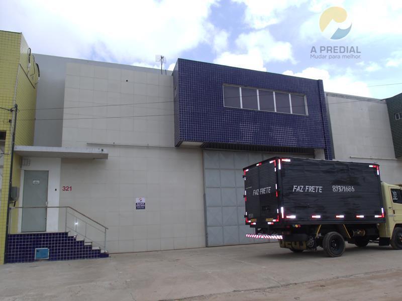 Galpão comercial para locação, Paupina, Fortaleza.