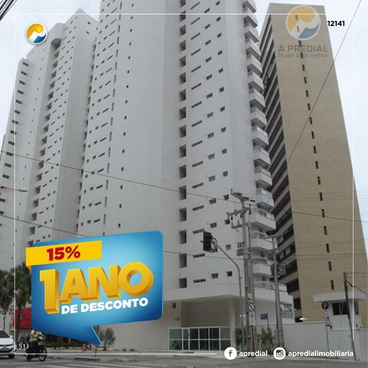 Apartamento residencial para locação, Meireles, Fortaleza - AP0520.