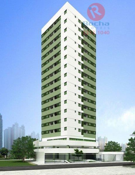 Apartamento residencial à venda, Campo Grande, Recife - AP0058.