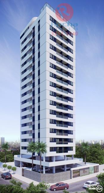 Apartamento residencial à venda, Candeias, Jaboatão dos Guararapes - AP0100.