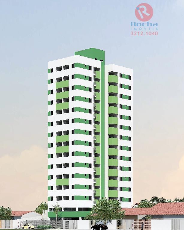 EDF. BRUXELAS Apartamento residencial à venda, Campo Grande, Recife - AP0046.