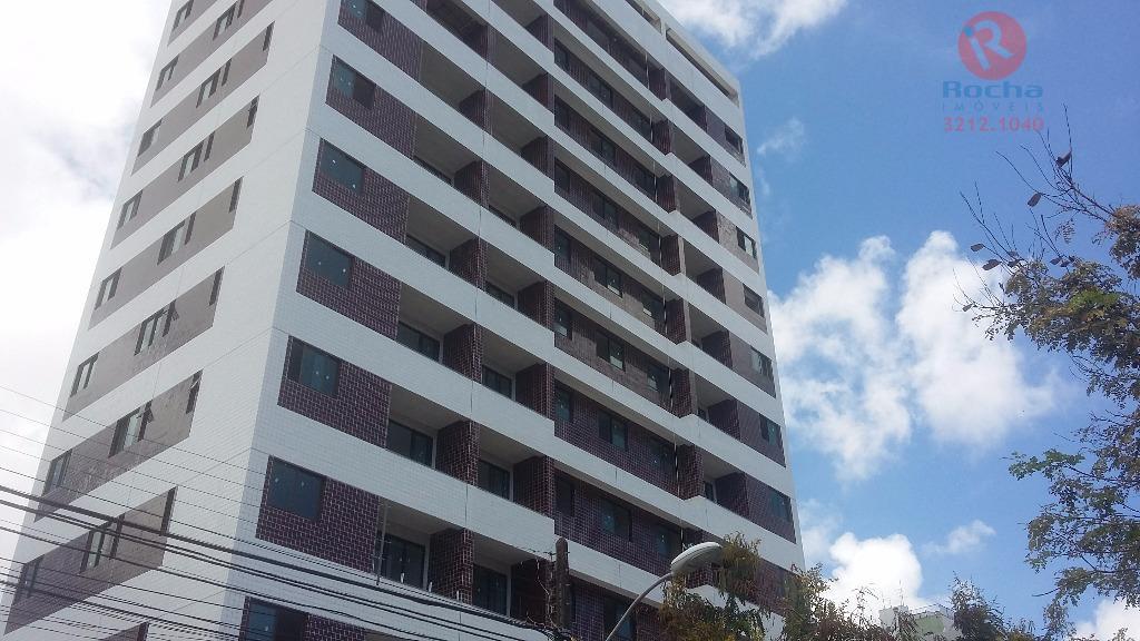 Apartamento residencial à venda, Torreão, Recife.
