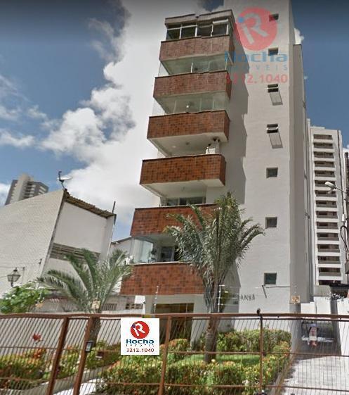 Excelente apartamento, próximo ao Parque da Jaqueira.