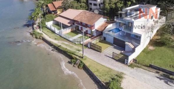 Casa 500m2 4 quartos mobiliada de alto padrao à venda, Centro, Porto Belo. de frente para mar !