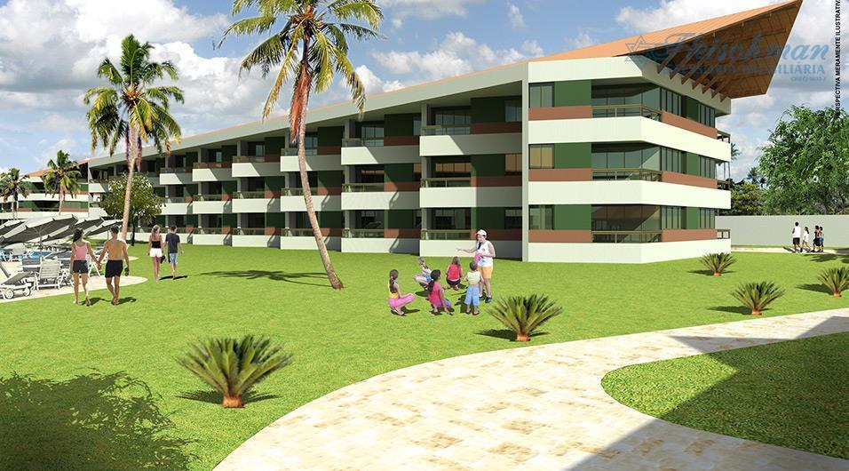 Flat temporada à venda, Portal de Tamandaré, Tamandaré - FL0124.