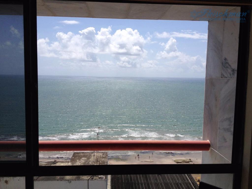 Flat mobiliado em Boa Viagem, Aluguel em Recife - FL0054.