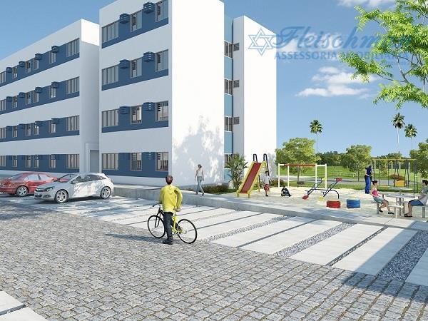 Apartamento residencial à venda, Penedo, São Lourenço da Mata.