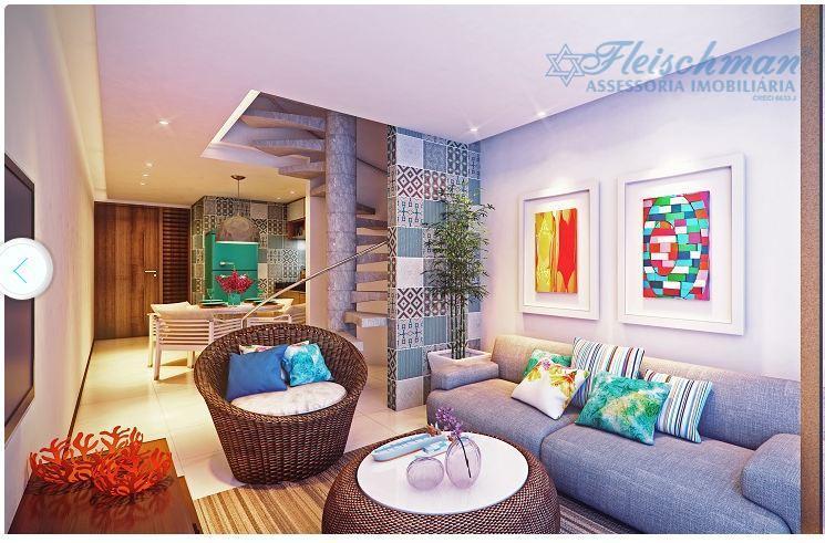Flat residencial à venda, Porto de Galinha, Ipojuca - LF0001.