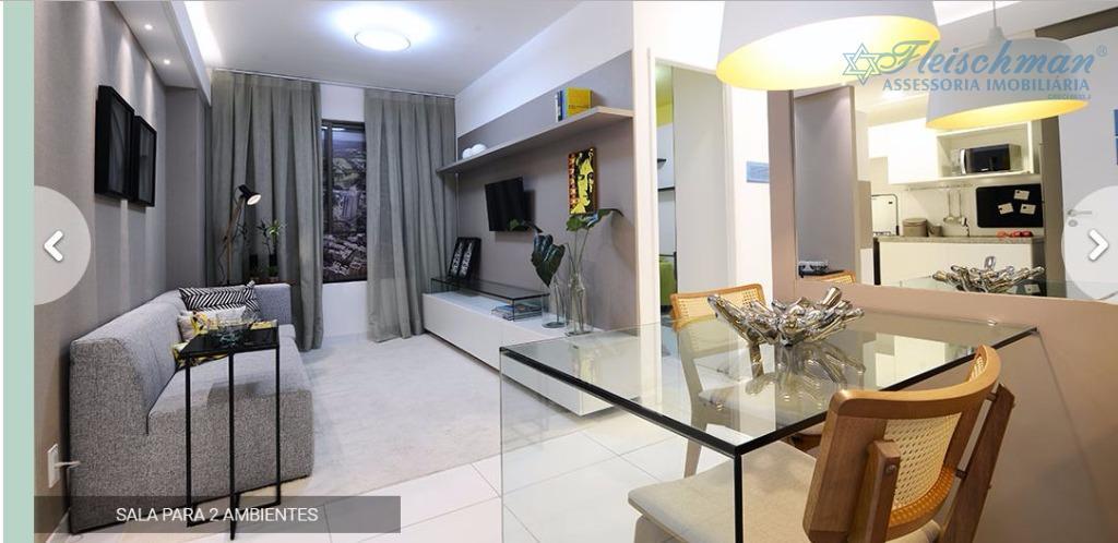 Apartamento residencial à venda, Várzea, Recife - AP0582.