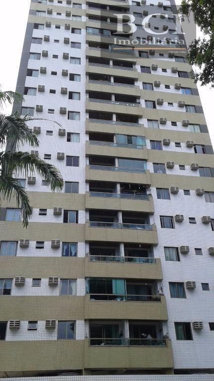 Apartamento  residencial à venda,Todo Decorado,  Casa Forte, Recife.