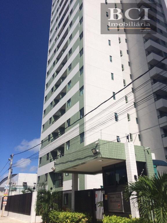 Apartamento residencial à venda, Candeias, Jaboatão dos Guararapes - AP0001.