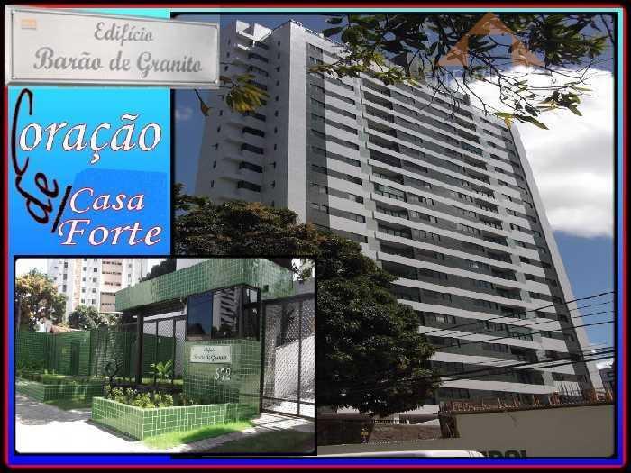 Apartamento residencial para locação, Casa Forte, Recife.