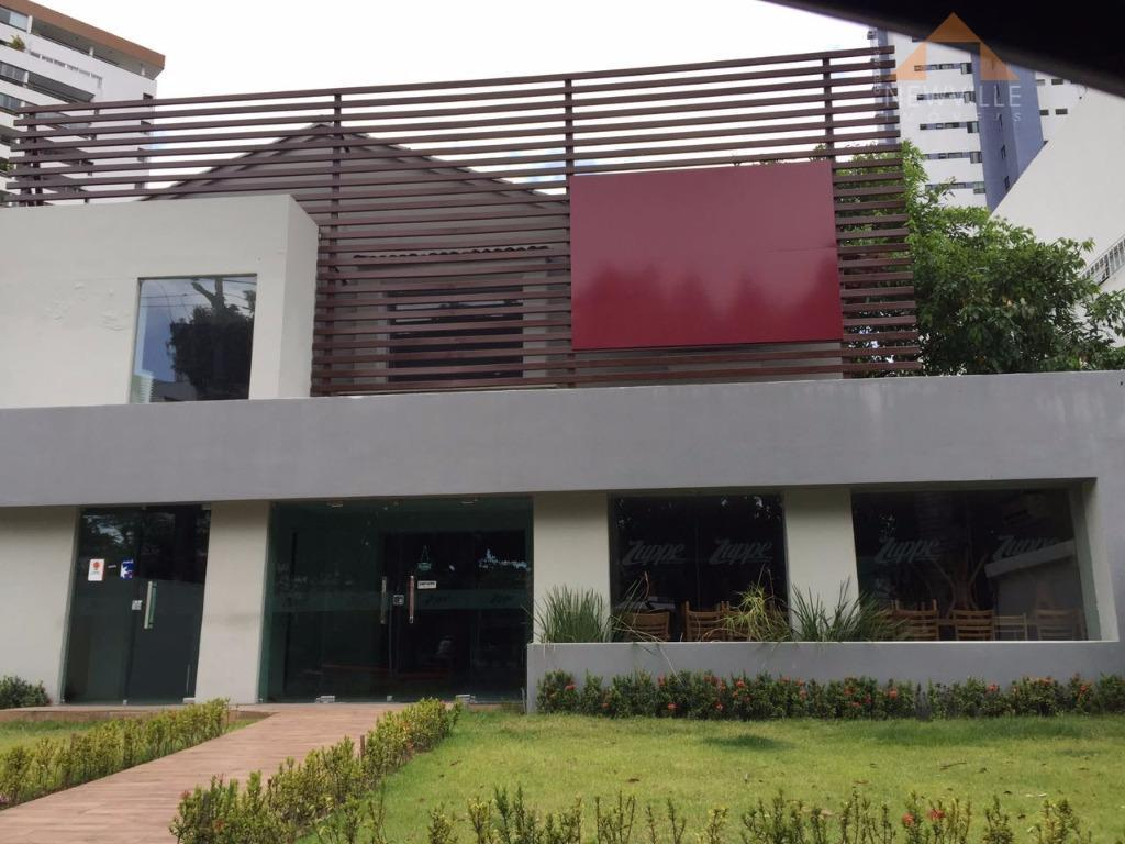 Casa comercial para locação, Graças, Recife.