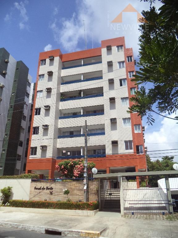 Apartamento residencial para venda e locação, Boa Viagem, Recife - AP0214.