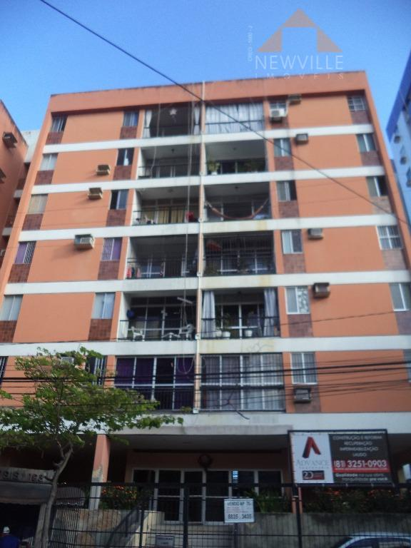 Apartamento residencial para venda e locação, Pina, Recife - AP0735.