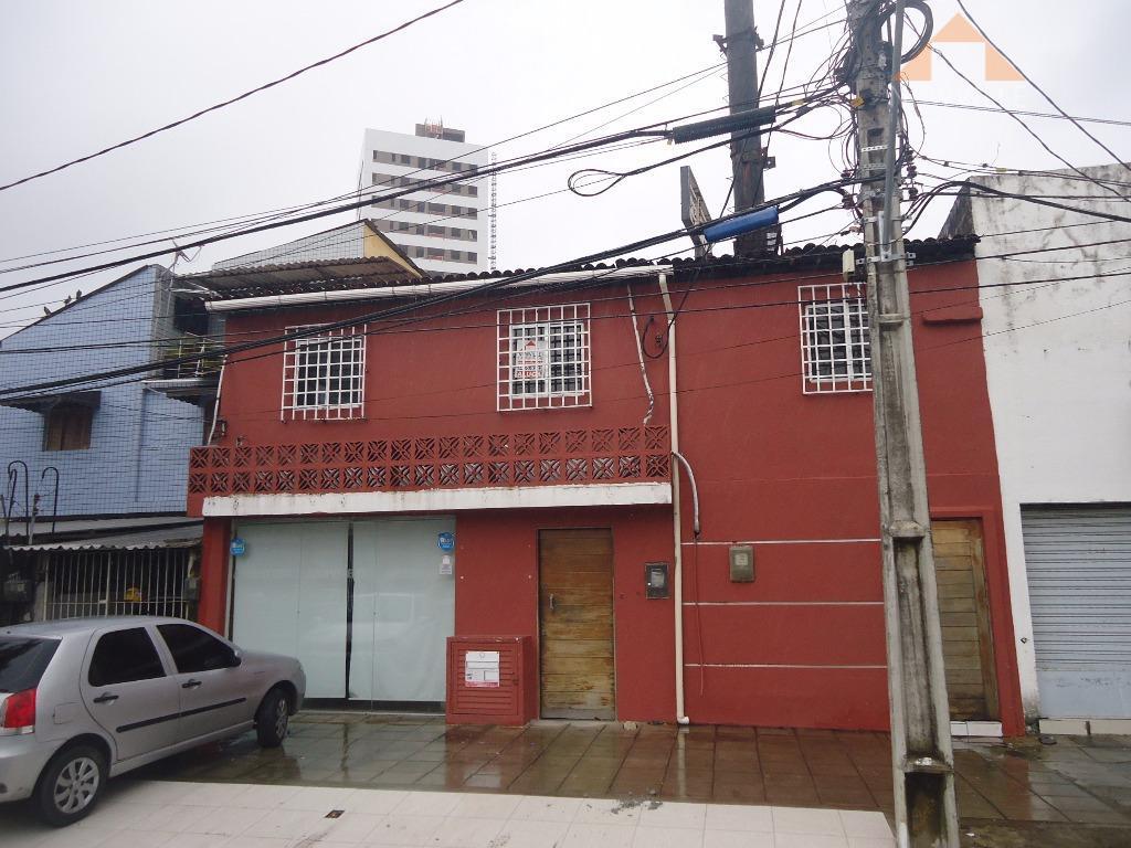 Casa comercial para locação, Pina, Recife.