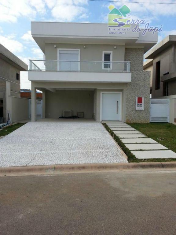 Itupeva - Ibiaram -  Casa em Condominio fechado. At360m2 e AC220m2 - sobrado - Locação R$3800,00  ou Venda R$880 mil