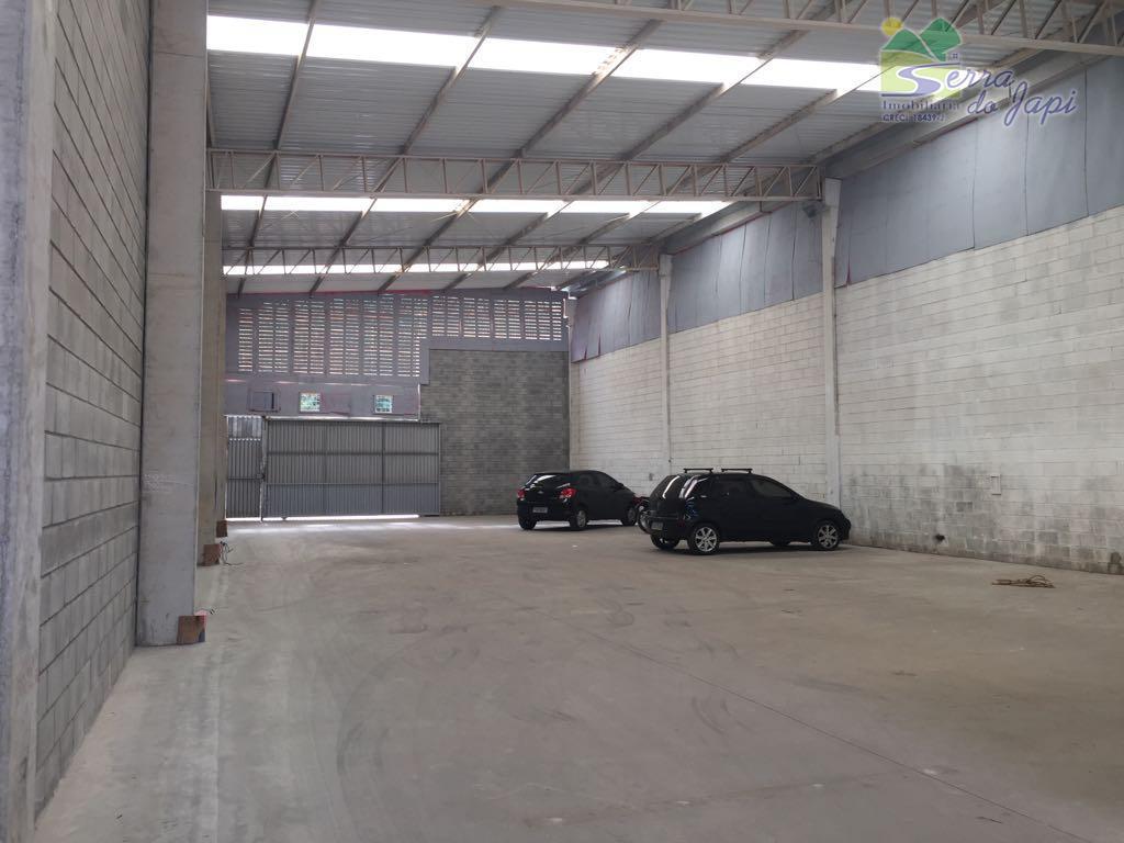 Galpão comercial para locação, Vila Graff, Jundiaí - GA0029.