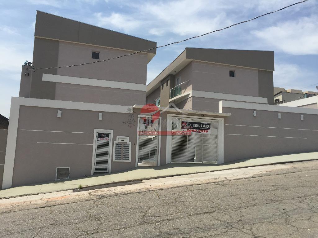 Sobrado com 3 dormitórios à venda e locação, 132 m² por R$ 370.000 - Vila Domitila - São Paulo/SP