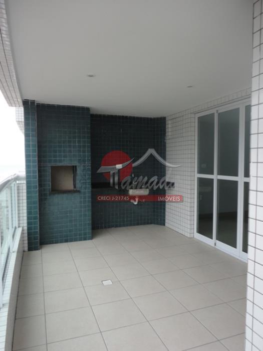 Apartamento de 1 dormitório em Canto Do Forte, Praia Grande - SP