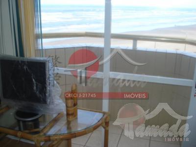 Apartamento de 1 dormitório à venda em Balneário Maracanã, Praia Grande - SP