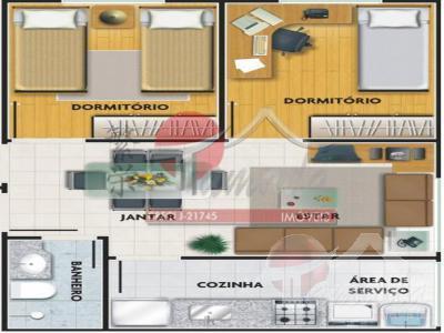 Apartamento de 2 dormitórios à venda em Vila Taquari, São Paulo - SP