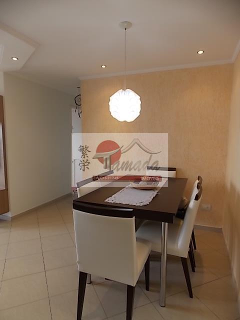 Apartamento de 3 dormitórios em Vila Domitila, São Paulo - SP