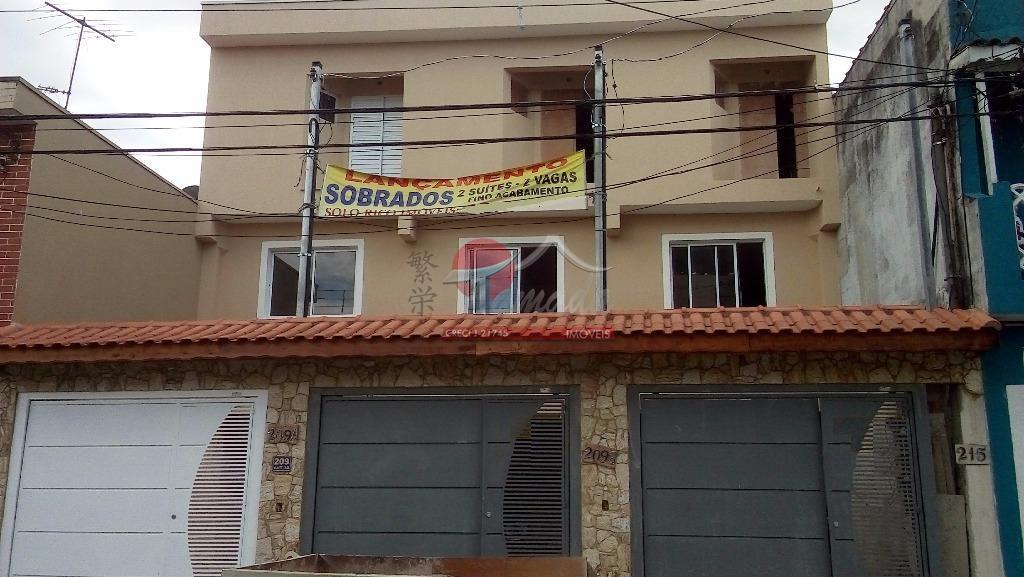 Sobrado de 2 dormitórios à venda em Parque Das Paineiras, São Paulo - SP