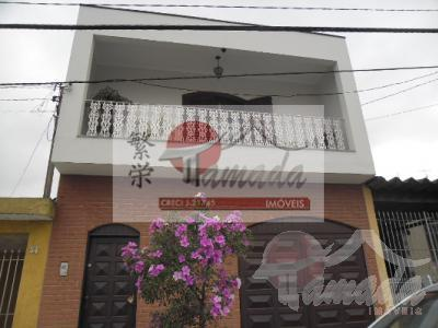Sobrado de 4 dormitórios em Vila Domitila, São Paulo - SP