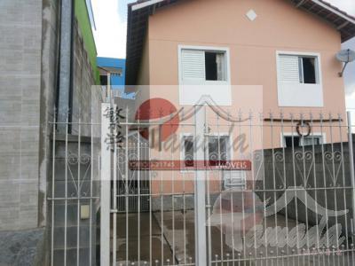 Sobrado de 2 dormitórios em Jardim Santa Rosa, Ferraz De Vasconcelos - SP