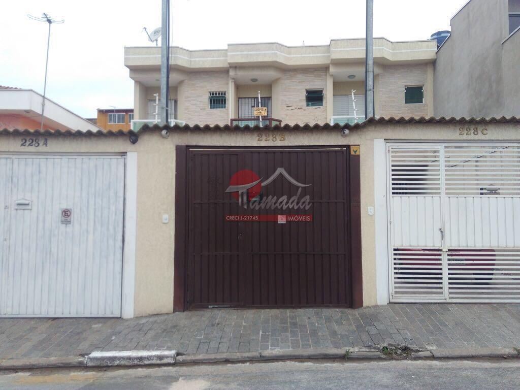 Sobrado com 3 dormitórios à venda, 120 m² por R$ 395.000 - Vila Paranaguá - São Paulo/SP