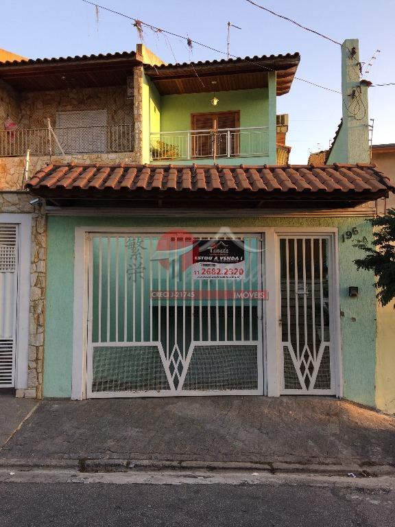 Sobrado com 3 dormitórios à venda, 217 m² por R$ 720.000 - Vila Londrina - São Paulo/SP