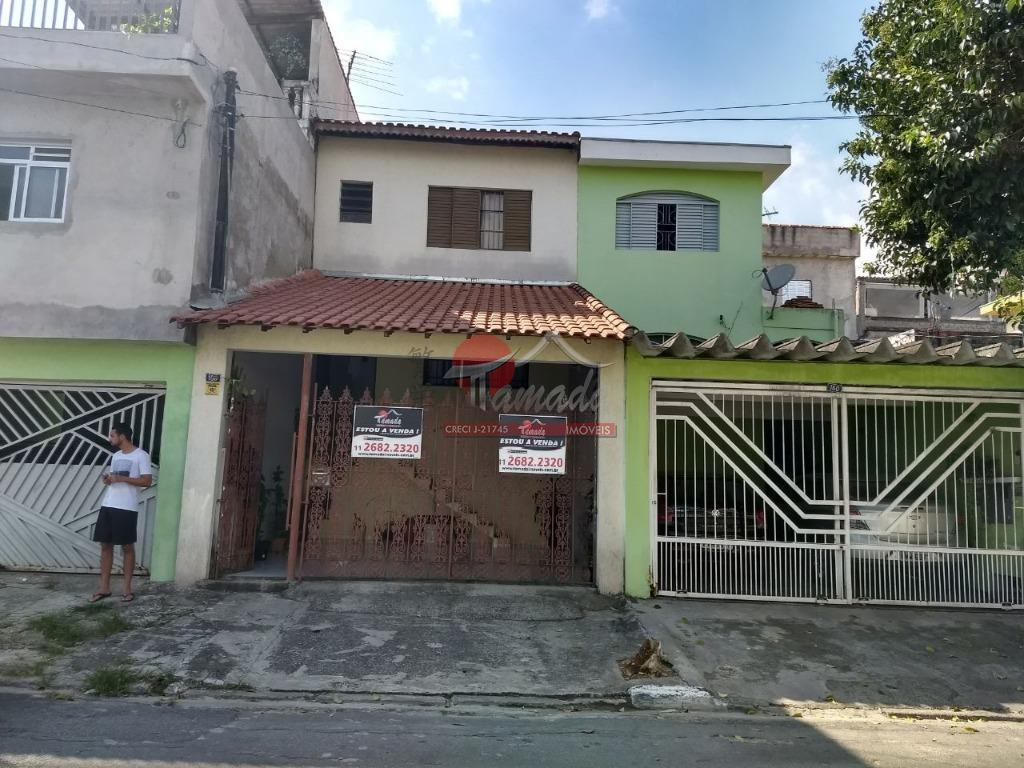 Sobrado residencial à venda, Parque Císper, São Paulo.