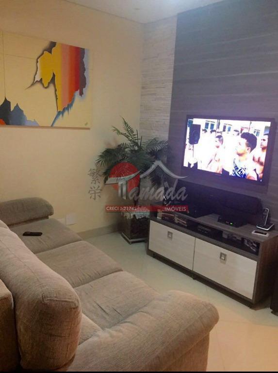 Sobrado com 3 dormitórios à venda, 150 m² por R$ 680.000 - Vila Guilhermina - São Paulo/SP