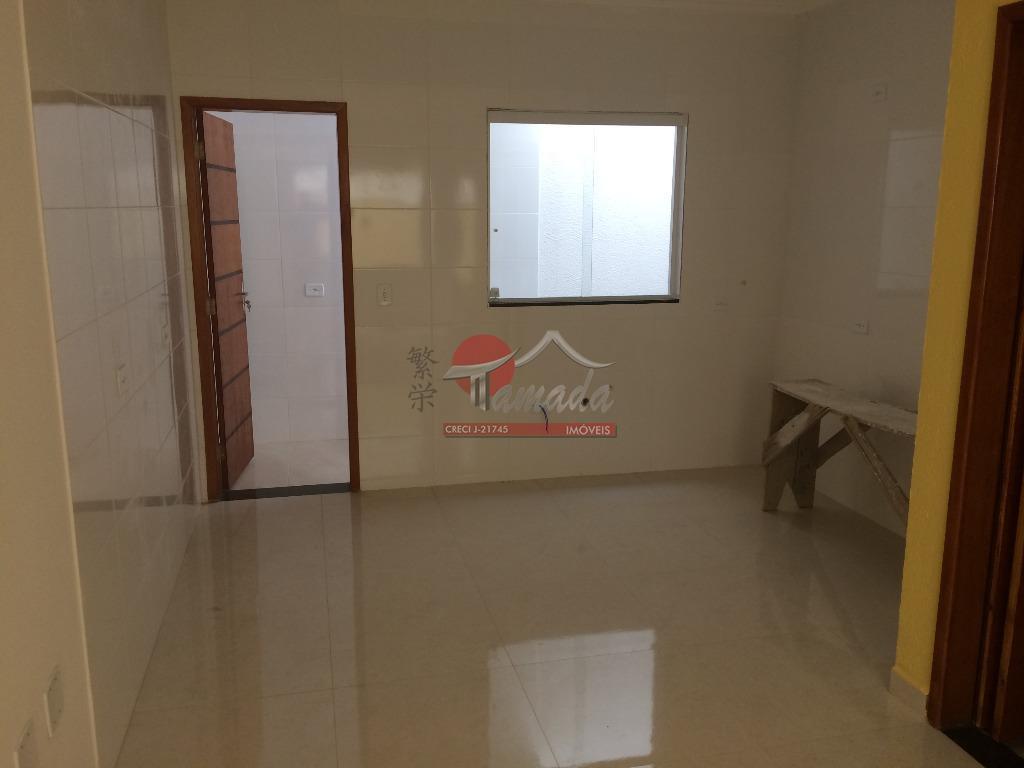 ótimo sobrado novo com 2 dormitórios sendo 2 suítes, sala, lavabo, cozinha, área de serviço e...