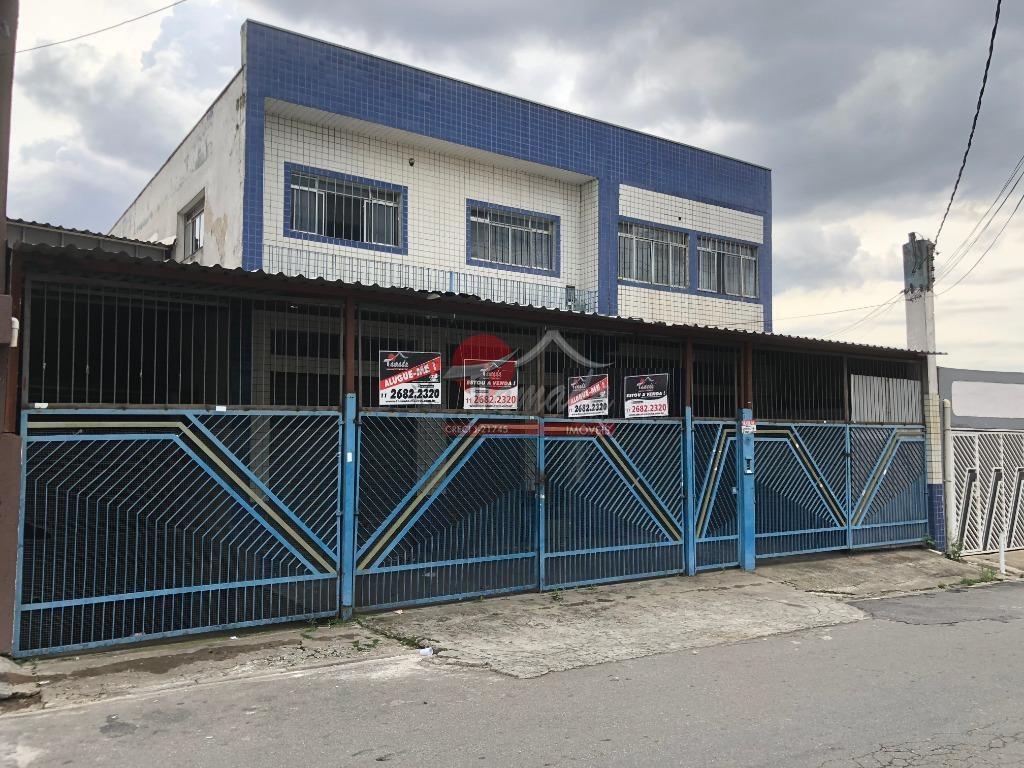 Salão comercial para venda e locação, Jardim Eliane, São Paulo - SL0080.