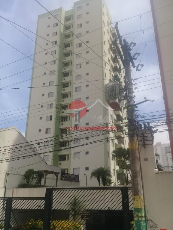 Apartamento com 3 dormitórios à venda e locação, 74 m² por R$ 530.000 - Tatuapé - São Paulo/SP