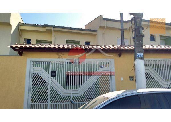 Sobrado com 2 dormitórios à venda, 68 m² por R$ 370.000 - Vila Rio Branco - São Paulo/SP